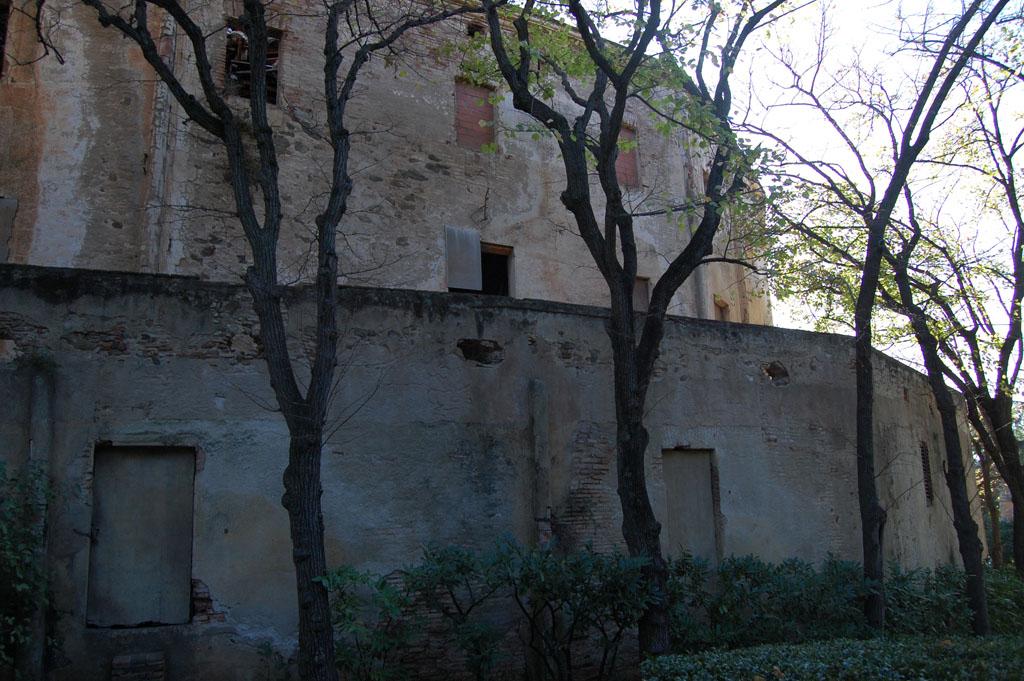Perímetro exterior del Palacio
